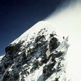 Guy Cotter below Hillary step 1992